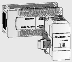 Компоненты систем семейства ПЛК (промышленных программируемых логических контроллеров) FX Mitsubishi Electric